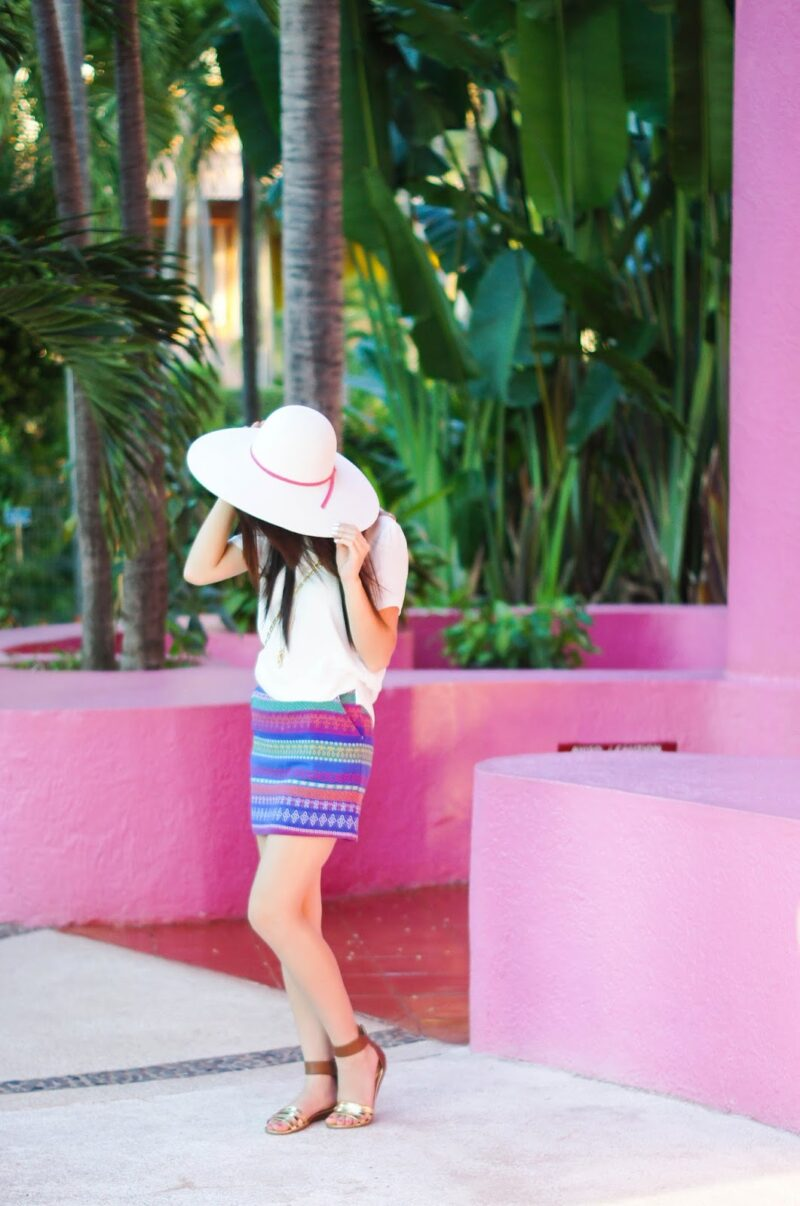 Living in Color: Puerto Vallarta Outfit