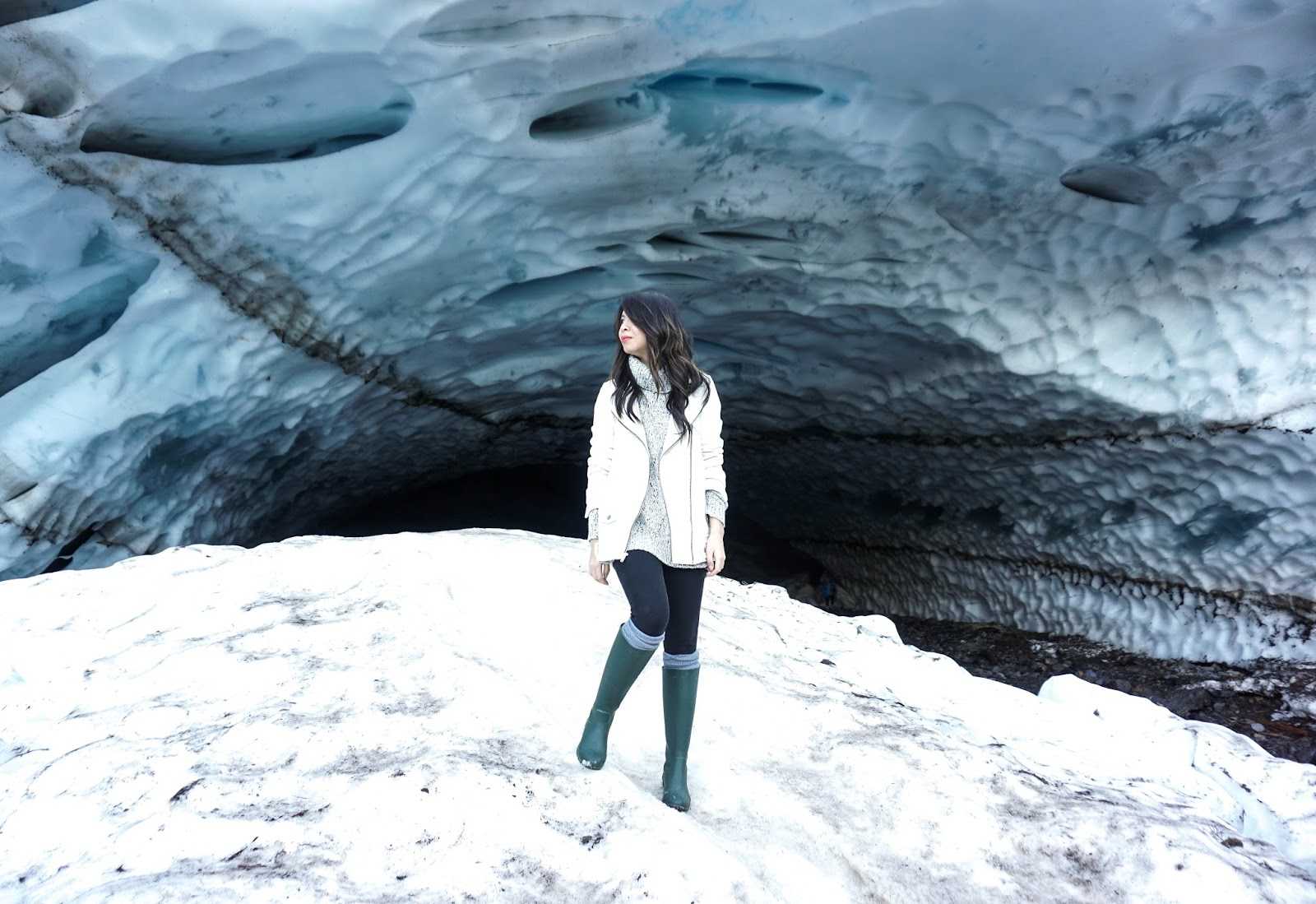 Ice Ice Baby Big Four Ice Caves Just A Tina Bit