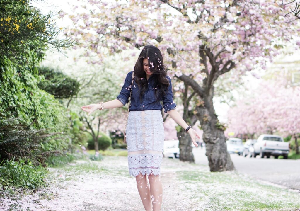justatinabit-madewell-chambray-button-up-shirt-endless-rose-lace-pencil-skirt-jessica-simpson-emerita-caged-sandals
