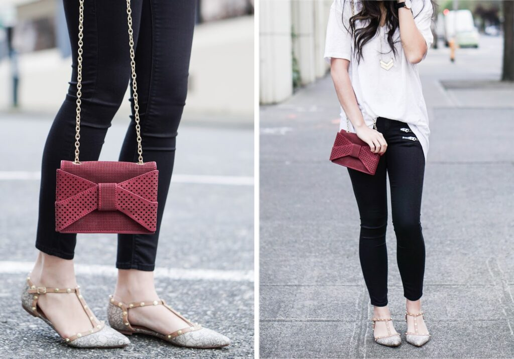 top-shop-black-zippered-jeans-white-tee