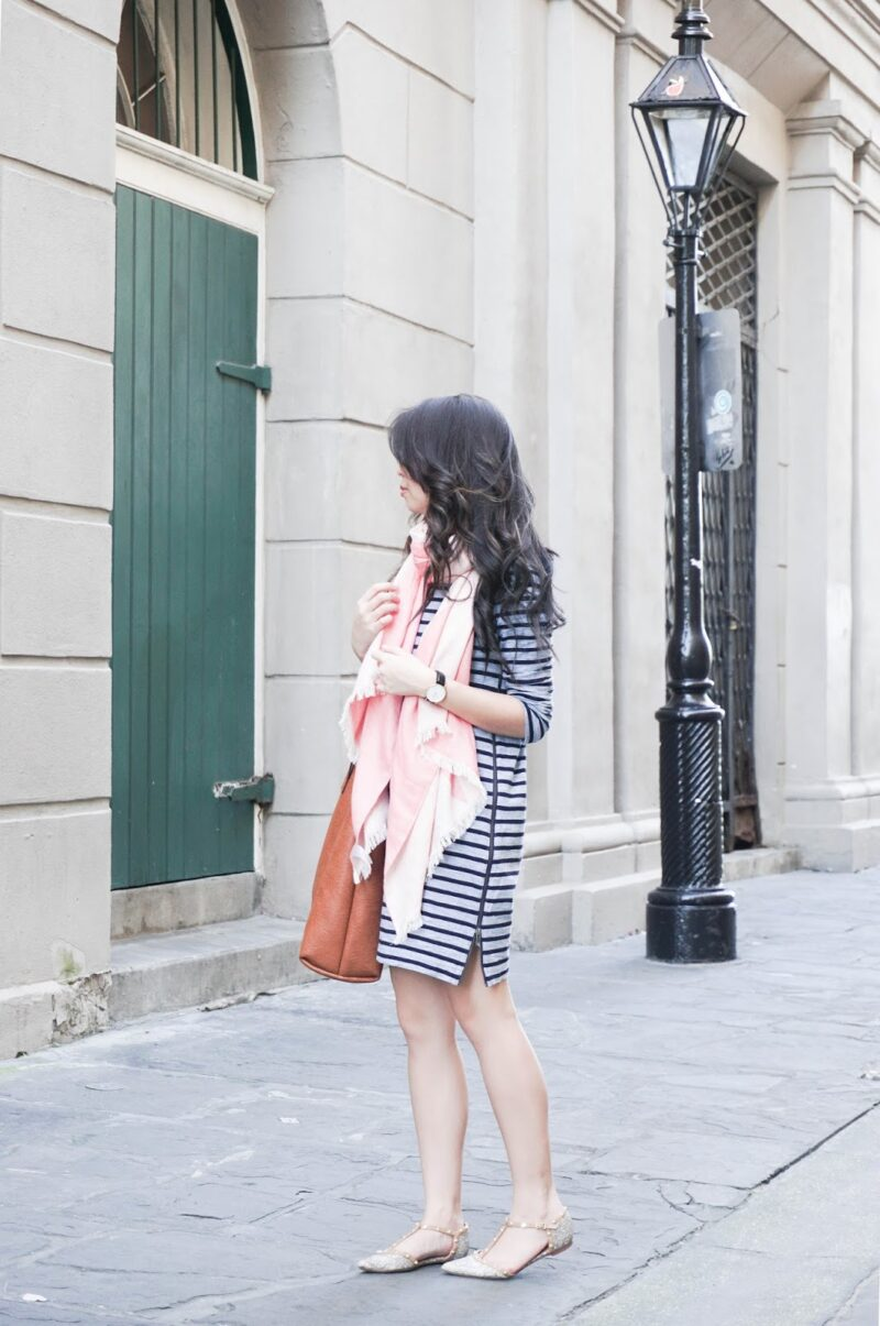 New Orleans Edition: Versatile Striped Tee Dress