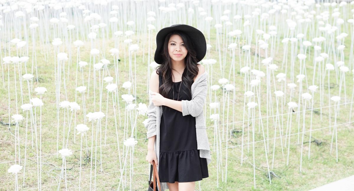 justatinabit-seoul-dongdaemun-design-plaza-ddp-uniqlo-rayon-sleeveless-drop-waist-dress-3