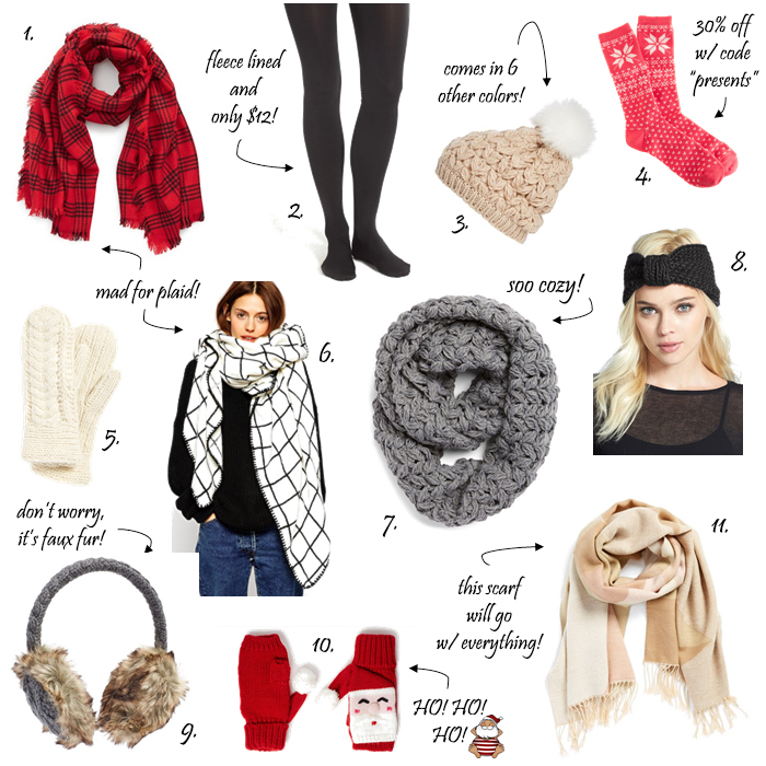 best winter accessories under 50 dollars