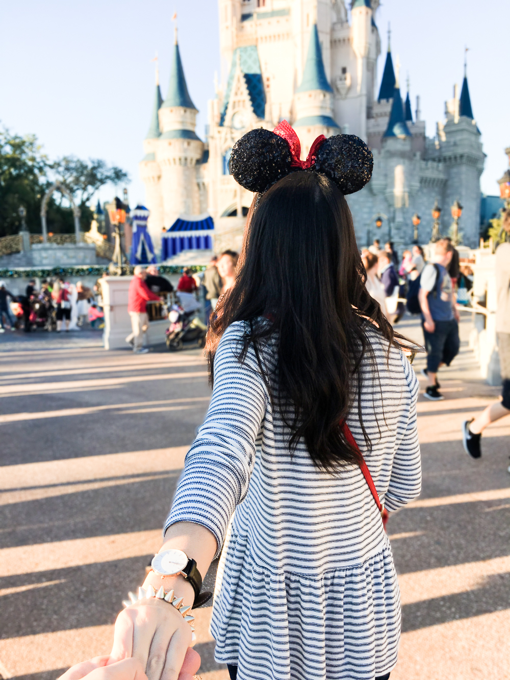 follow me to the happiest place on earth, walt disney world magic kingdom orlando