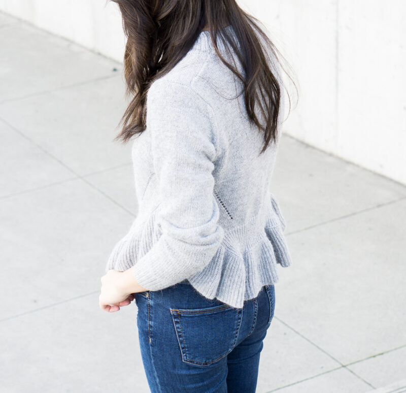 Pretty Ruffle Sweater