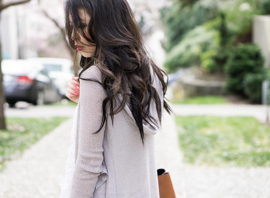 asian brunette hair style