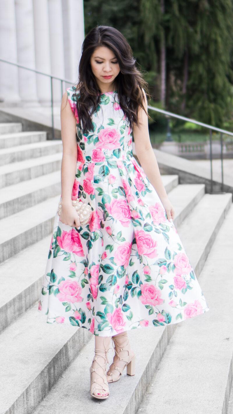 Rose Dress for Wedding