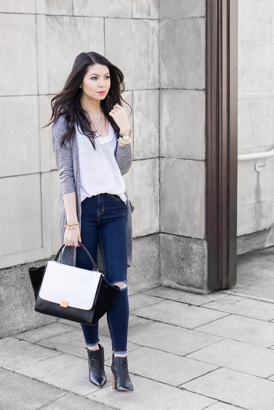 Simple Style TShirt Outfit | Just A Tina Bit