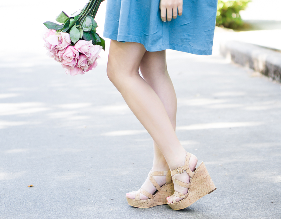 nordstrom bp cork wedges, spring fashion