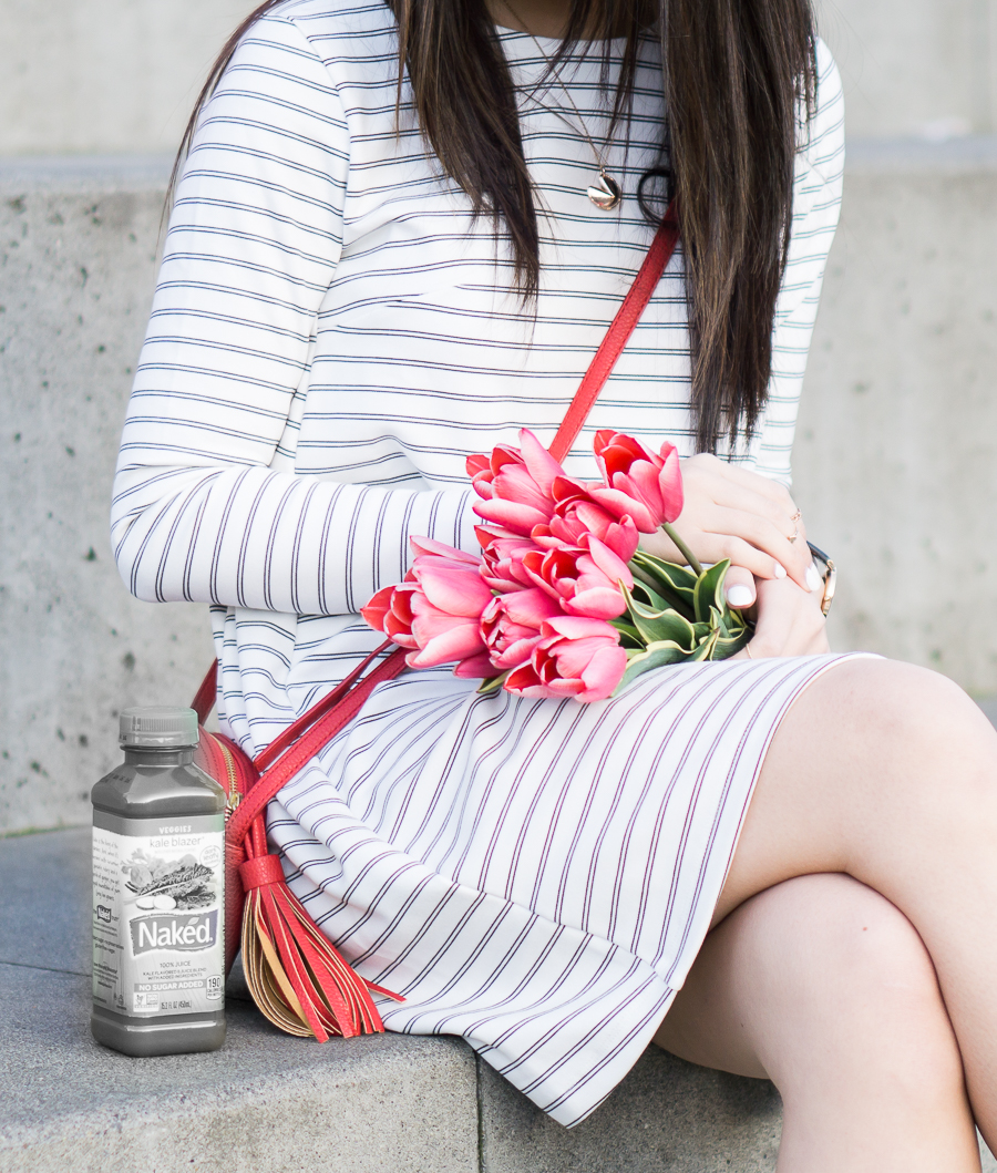 4 summer white dresses you need right now, casual striped dress
