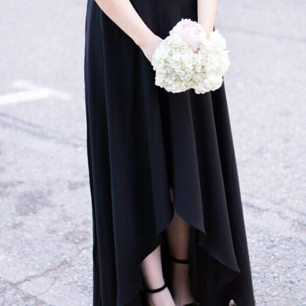 e15e9f0424c Stripes   Anchors  Tie-Waisted Peplum Top · wedding guest outfit