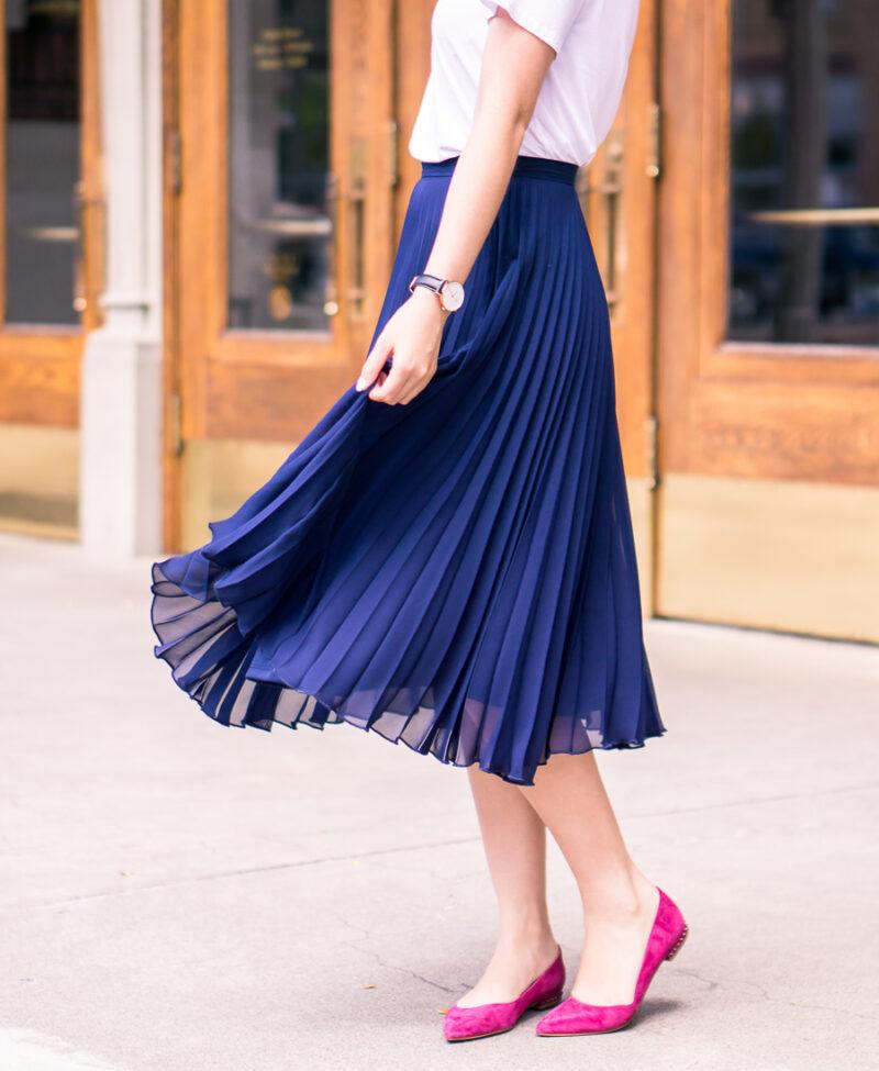 Pleated Skirt + Nordstrom Anniversary Sale Picks