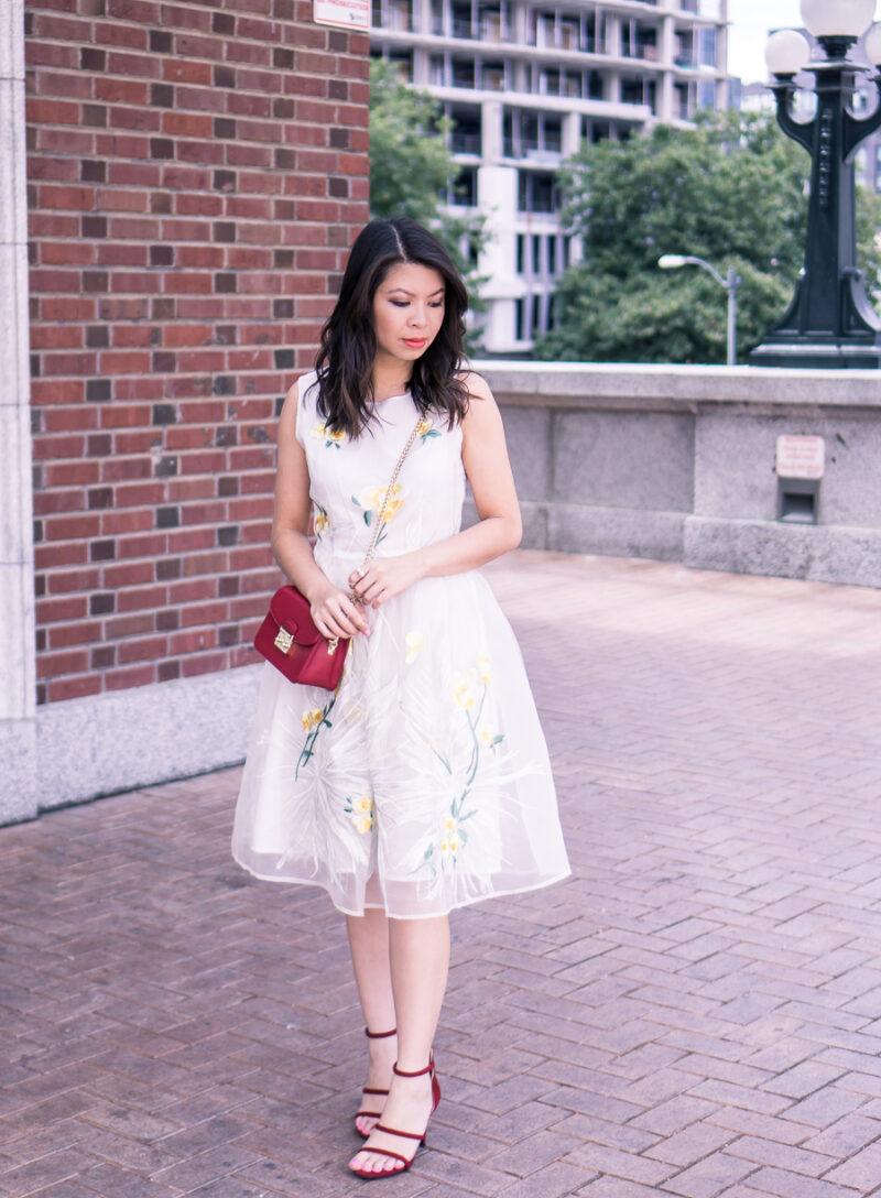 Embroidered Dress + VIPme.com Review