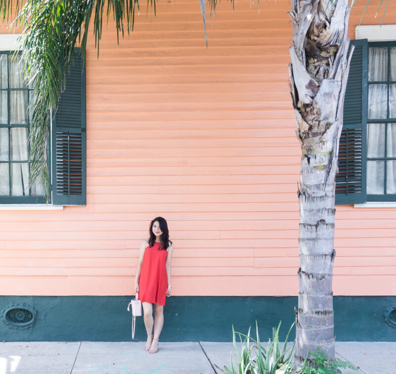 High Neck Dress in the Bywater