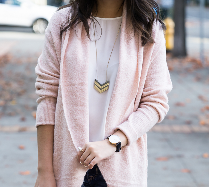 Cocoon sweater cardigan, casual cute outfit, fall fashion, petite fashion blog