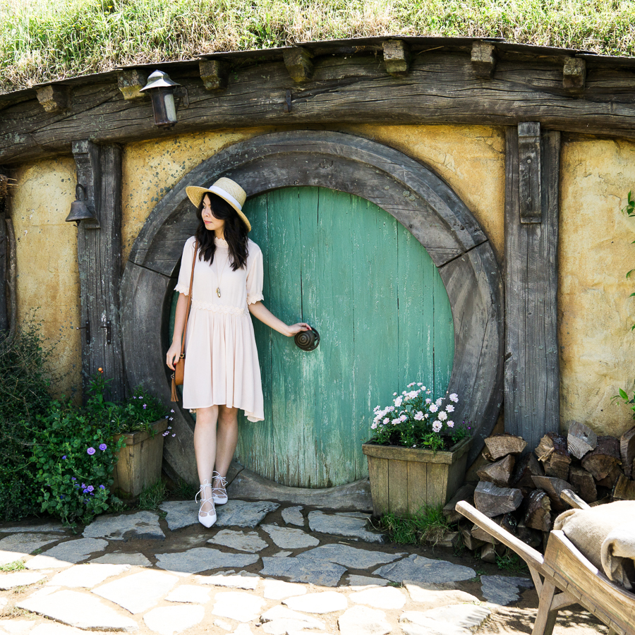 Everything you need to know about Hobbiton Movie Set, The Shire, Hobbit Hole, Matamata, New Zealand, Travel Blog