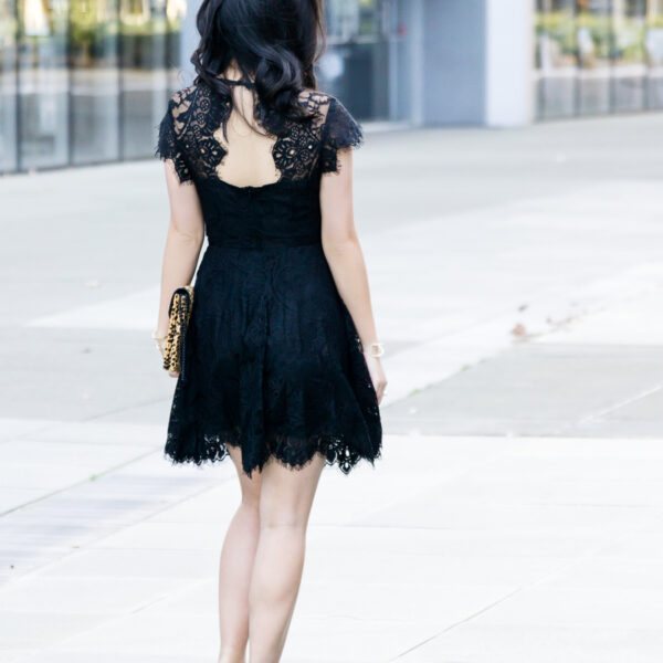 Outfit for Valentines Day, BB Dakota Rhianna Lace Dress Outfit, Petite Fashion Blog