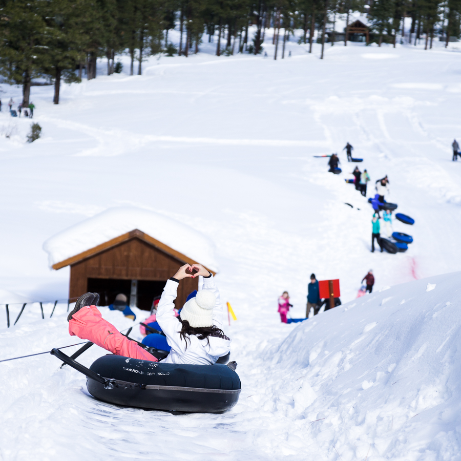 Suncadia Resort Review, Inner Tubing Snow Activities, Seattle Blog