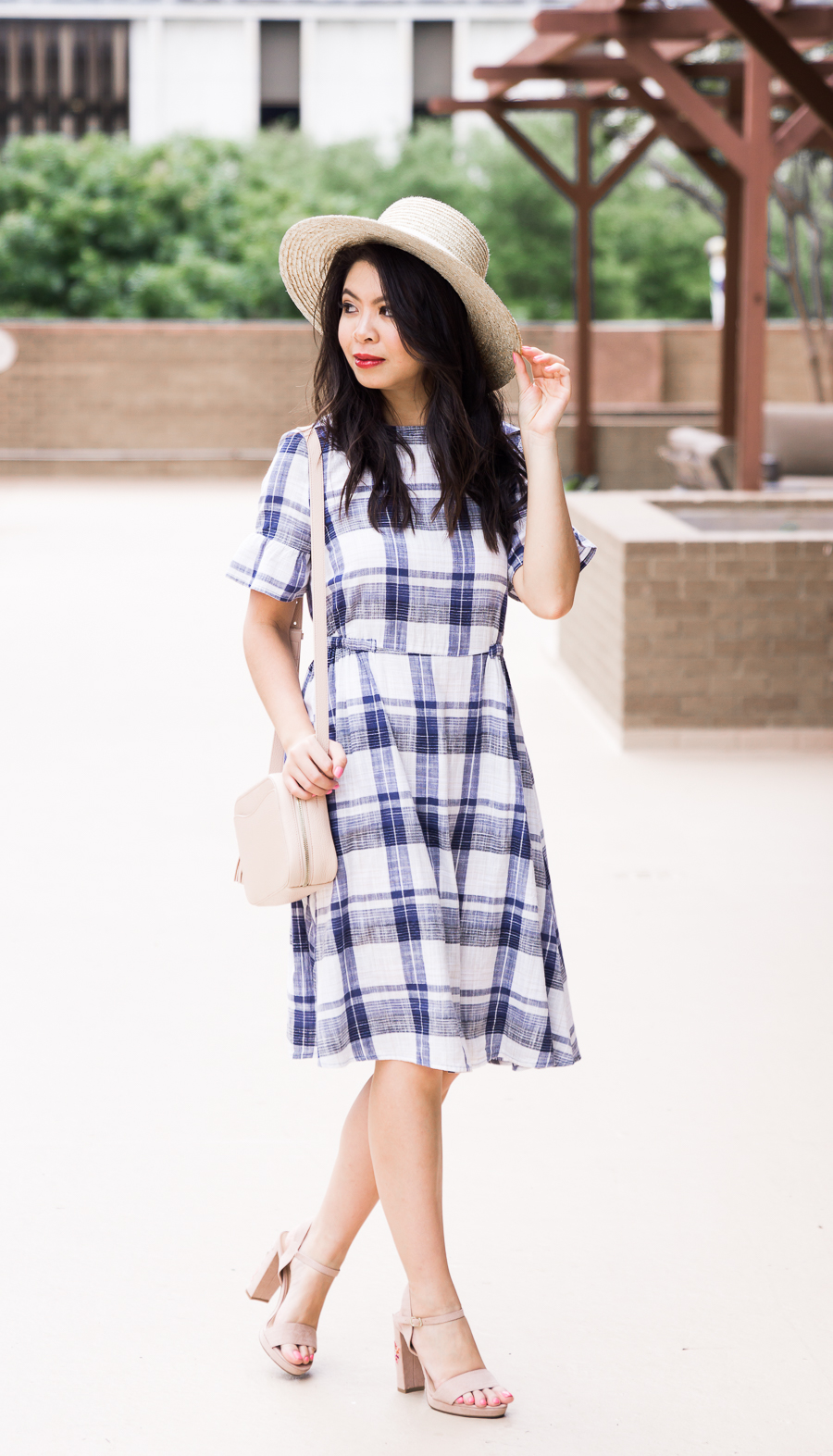 Marks & Spencer dresses, plaid dress