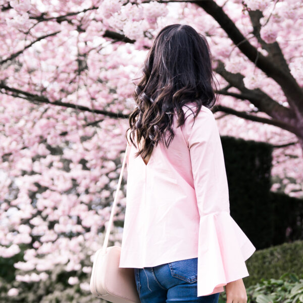 Why you need to incorporate bell sleeves in your wardrobe, bell sleeve top, spring style, petite fashion blog