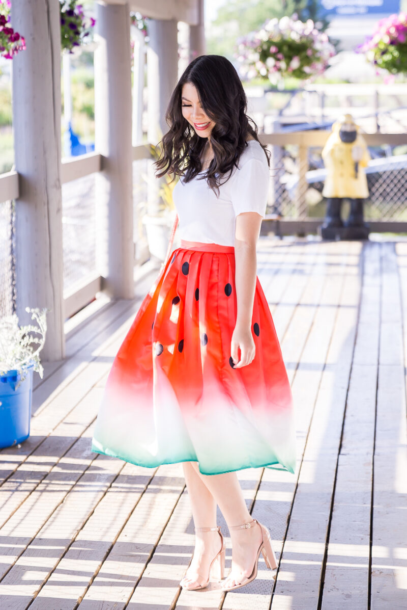 Watermelon Skirt + 15 Mouth Watering Watermelon Printed Items