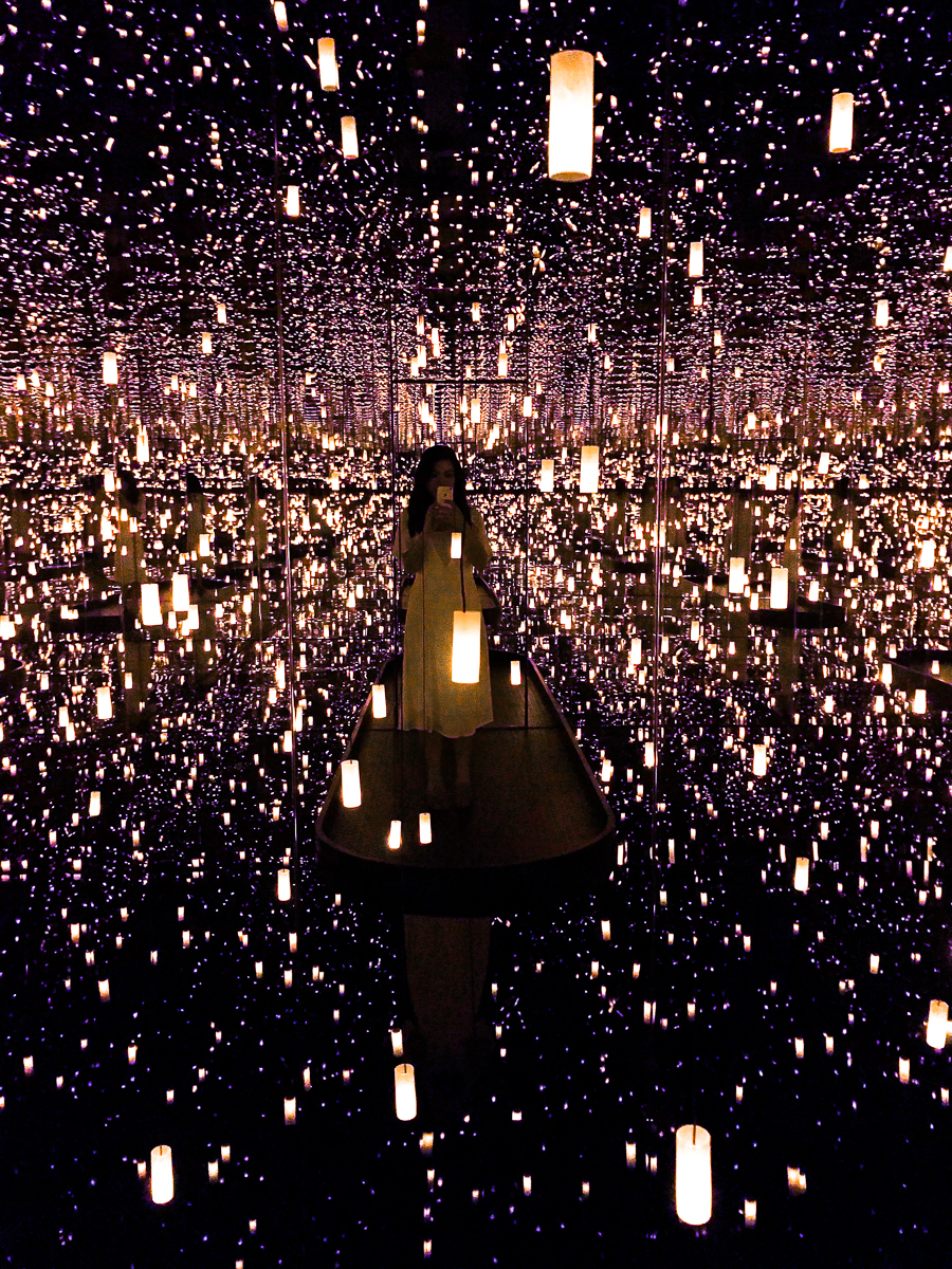 Yayoi Kusama Infinity Mirrors Seattle Exhibit Ends Sept 10