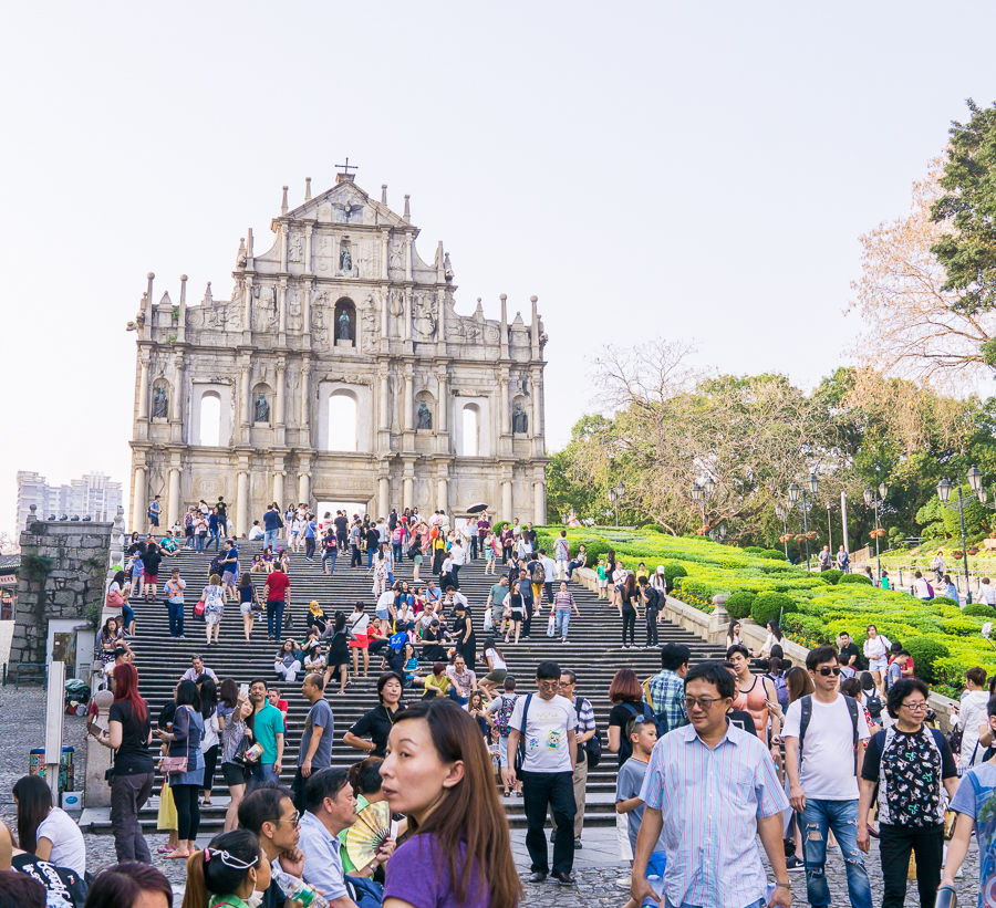 12 hours in Macau, Macau itinerary, things to do in Macau, Seattle fashion blogger, Ruins of St. Paul's Cathedral