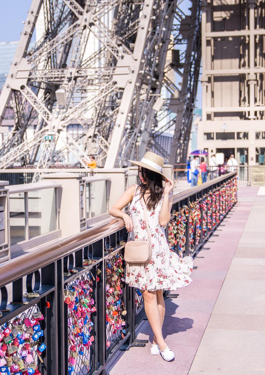 12 hours in Macau, Macau itinerary, things to do in Macau, Seattle fashion blogger, Macau Paris Hotel, Eiffel Tower