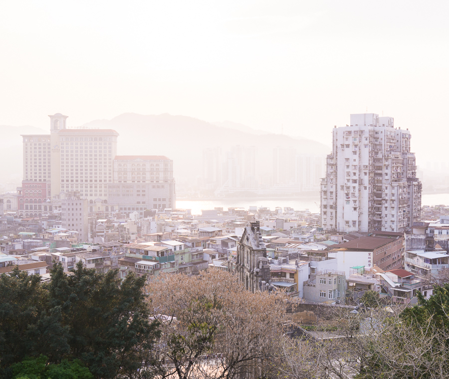 12 hours in Macau, Macau itinerary, things to do in Macau, Monte fort, Seattle fashion blogger