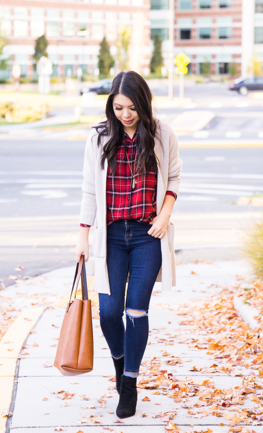 Fall Staple: Red Plaid Shirt