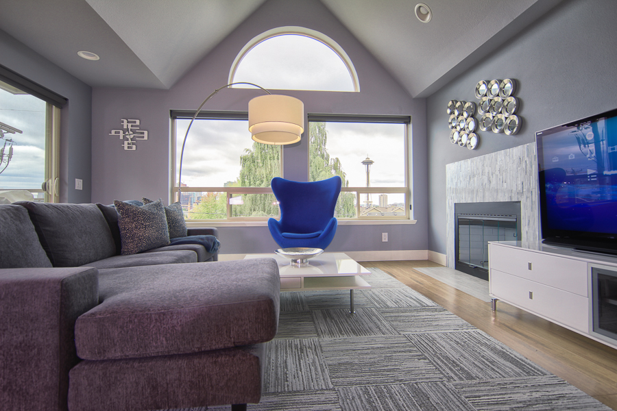 Justatinabit small condo remodel city chic seattle home - Small living room before and after ...