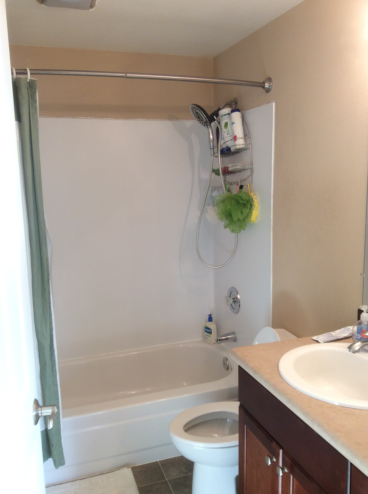 Our small condo remodel reveal just a tina bit for Bathroom remodel seattle