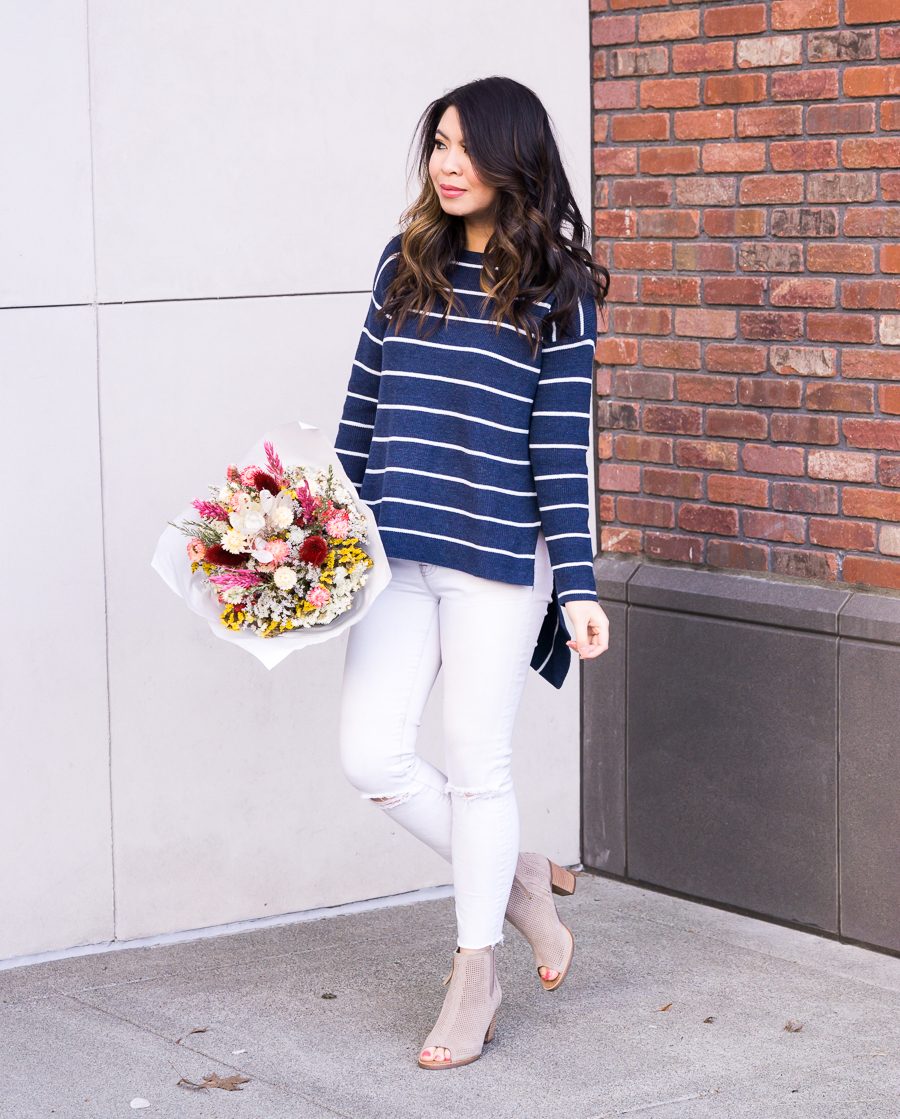 ab31b7be71af 5 Ways to Wear White Jeans This Spring