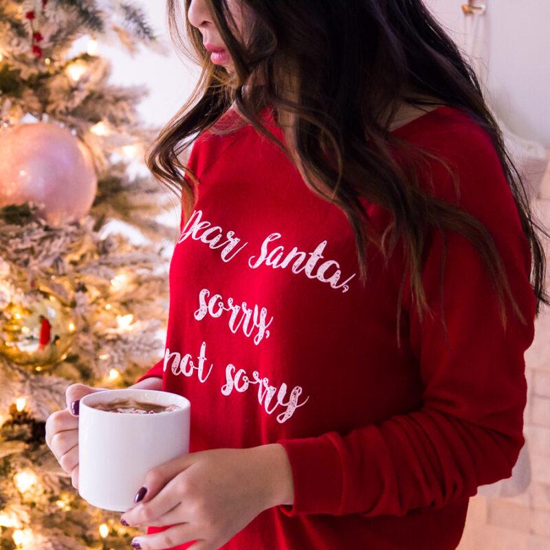Cute Womens Christmas Pajamas.25 Cute And Comfy Christmas Pajamas Womens Just A Tina Bit