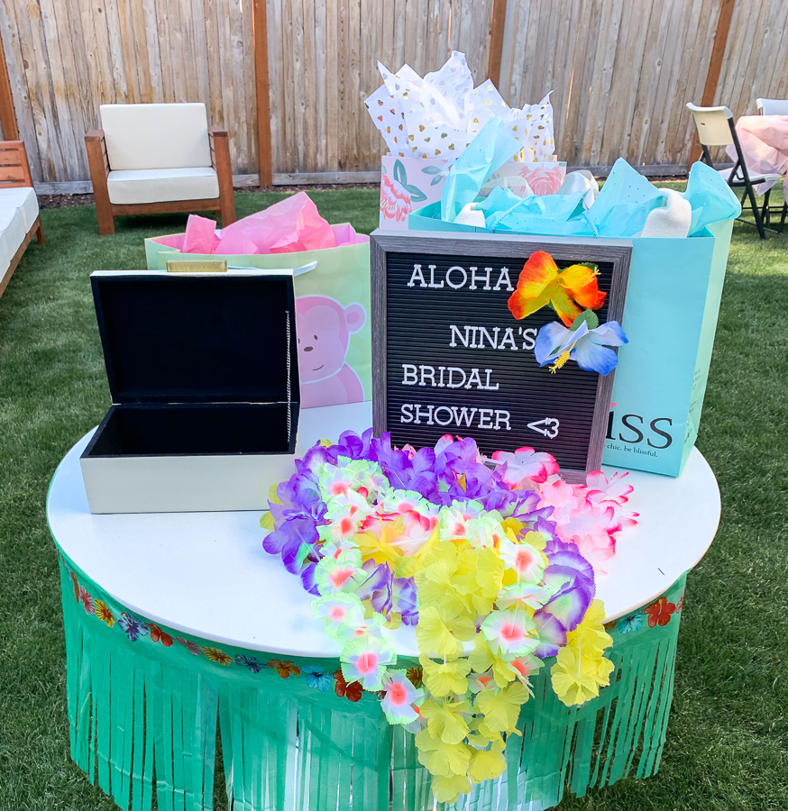 Hawaiian Themed Wedding Ideas: Tropical, Hawaiian Theme Bridal Shower Party, Bridal